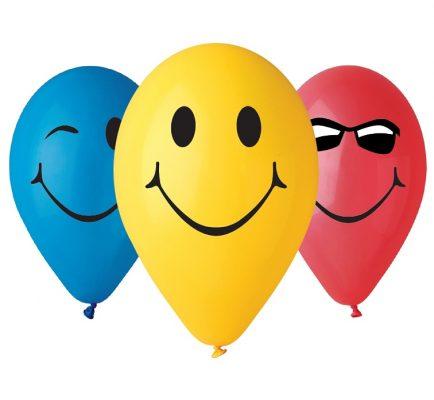 Balóny premium 12´´ SMILE 5ks