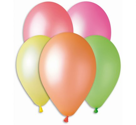Balóny premium 12´´ fluor. 5ks