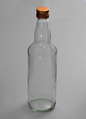 Fľaša s vrchnákom 0,5L