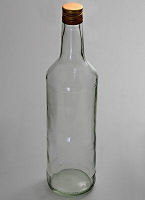 Fľaša s vrchnákom 1L