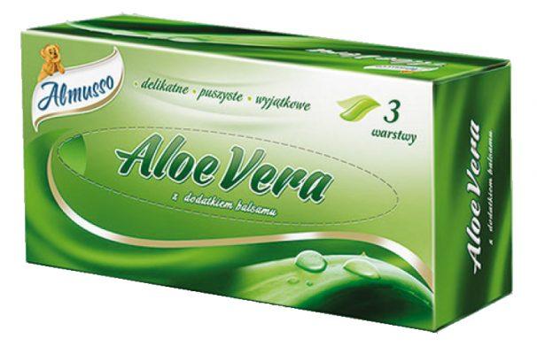 Kozmetické obrúsky Aloe Vera