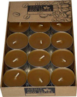 sviečka čajová 30ks caffe